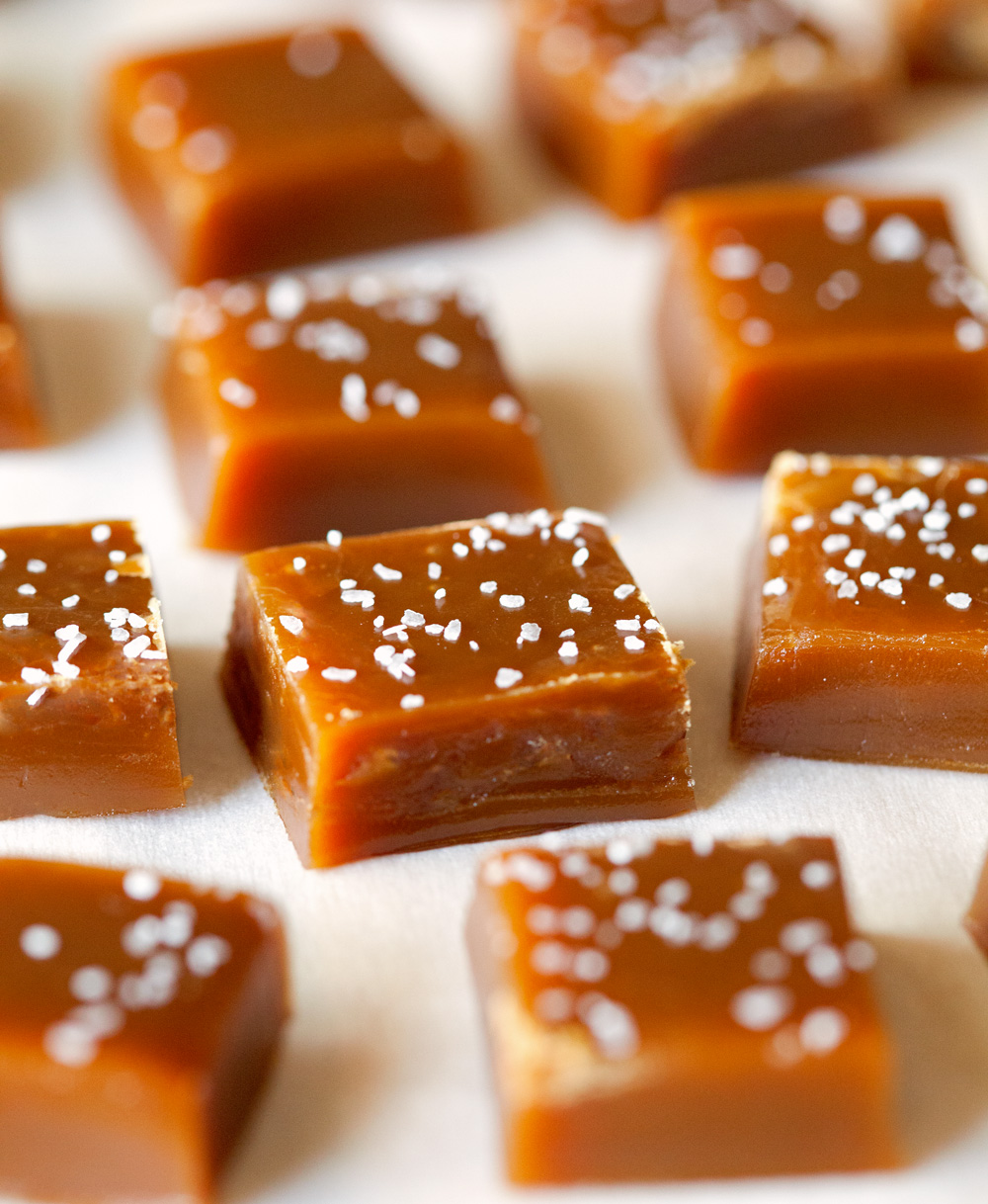 caramels honey caramels soft caramels apple cider caramels salted ...