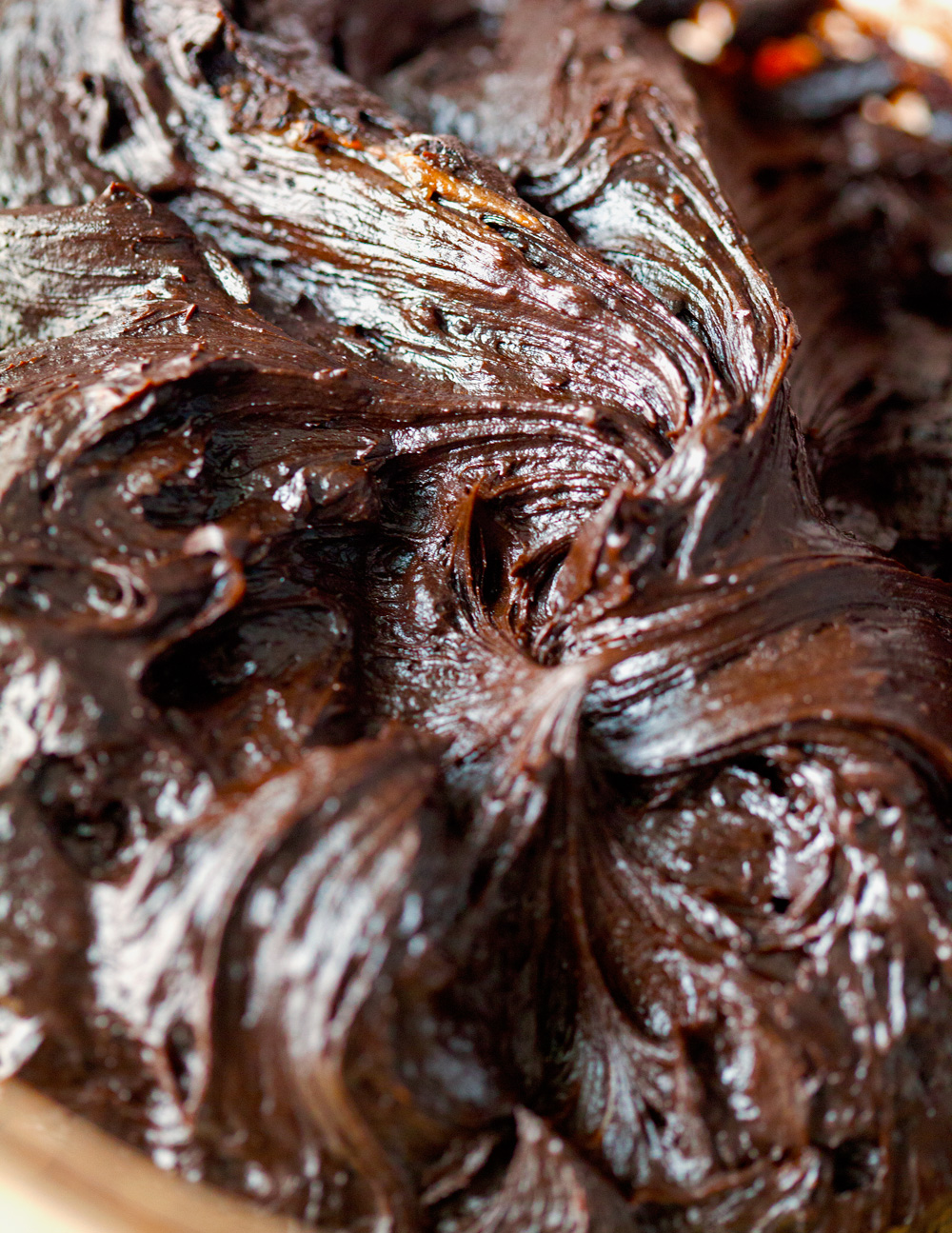 Chocolate Lovers' Frosting by Deliciously Yum!