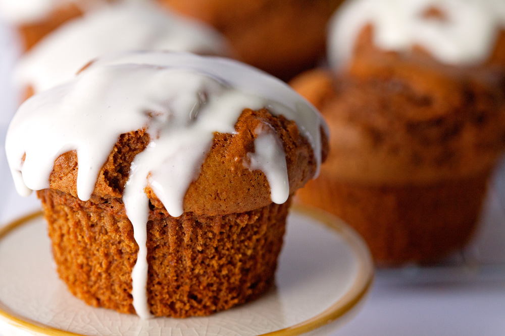 Gingerbread Muffins by deliciouslyyum.com