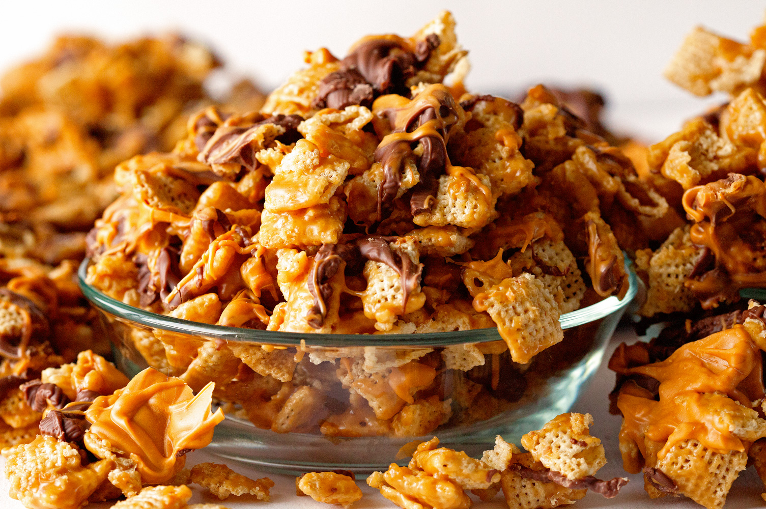 Ooey Gooey Cereal Crunch Mix by Deliciously Yum!