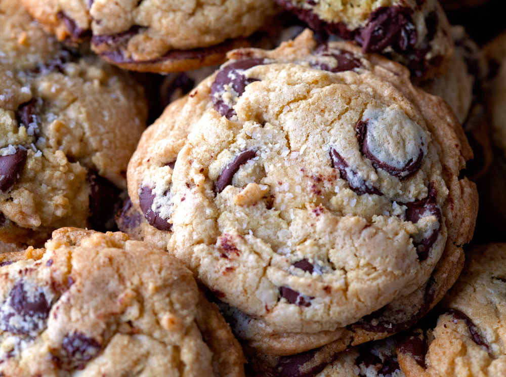 Nyc Chocolate Chip Cookies By Deliciously Yum