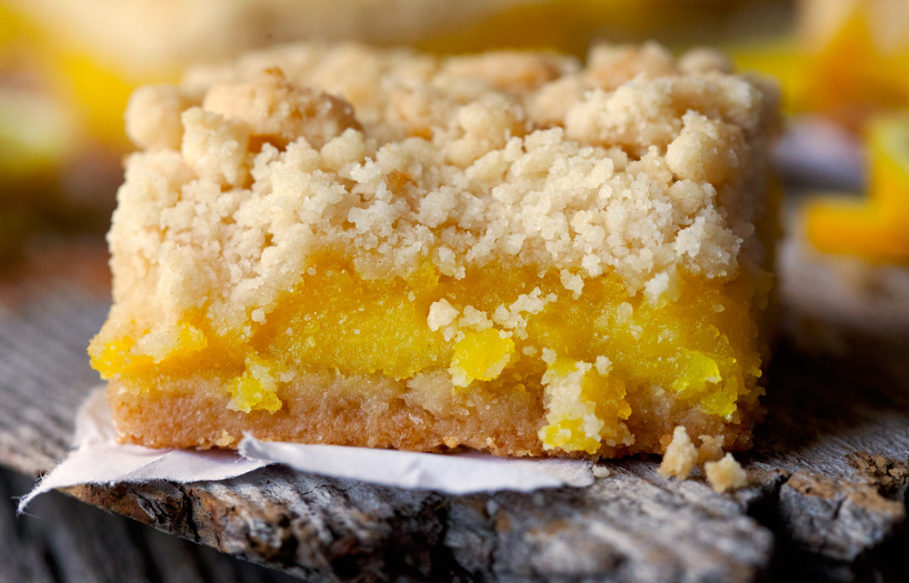 Lemon Pucker Bars by deliciouslyyum.com