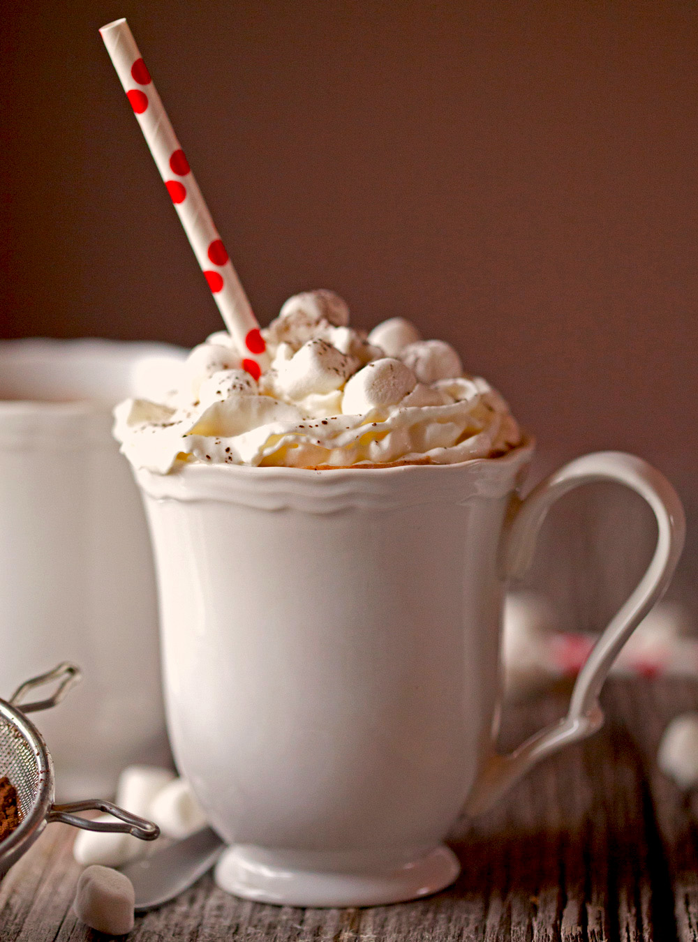 Homemade Sipping Hot Cocoa by deliciouslyyum.com