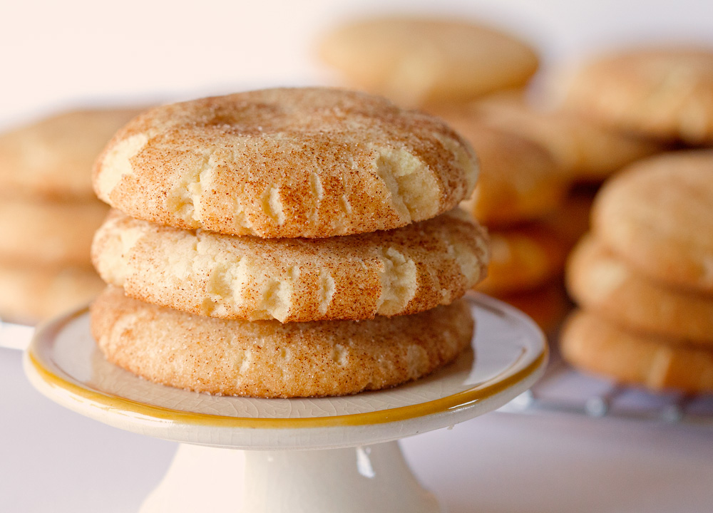 Classic Snickerdoodles by Deliciously Yum!