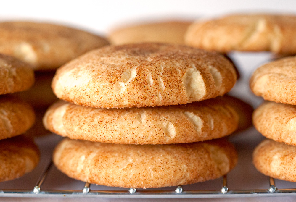Classic Snickerdoodles by deliciouslyyum.com