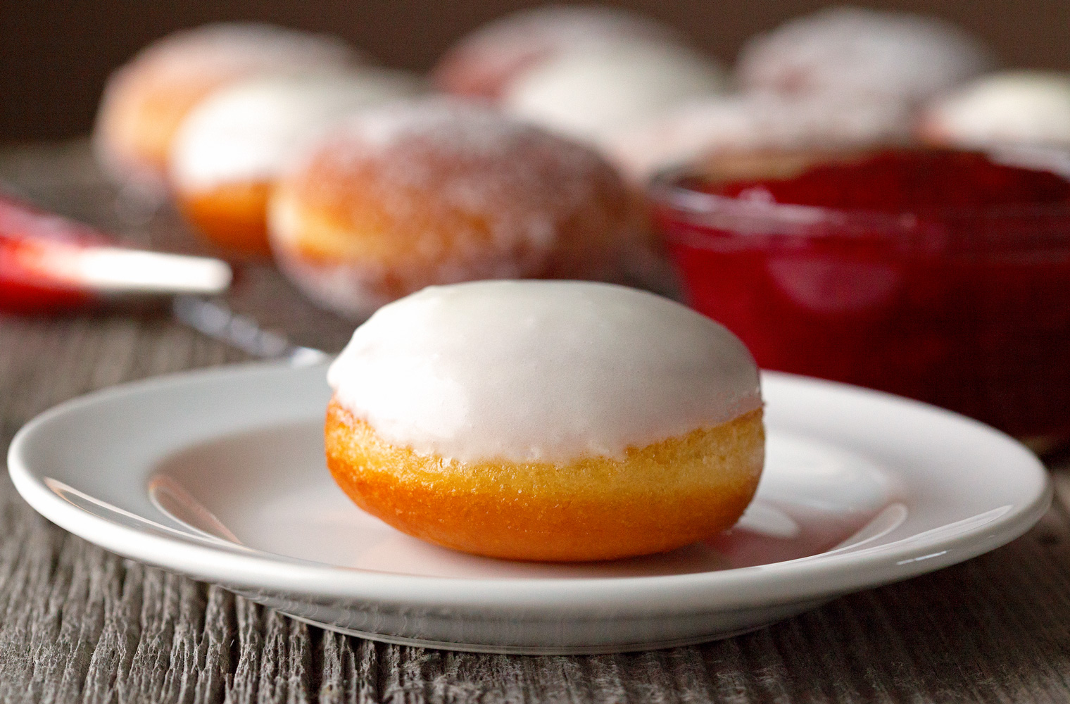 Jelly Doughnuts by Deliciously Yum!