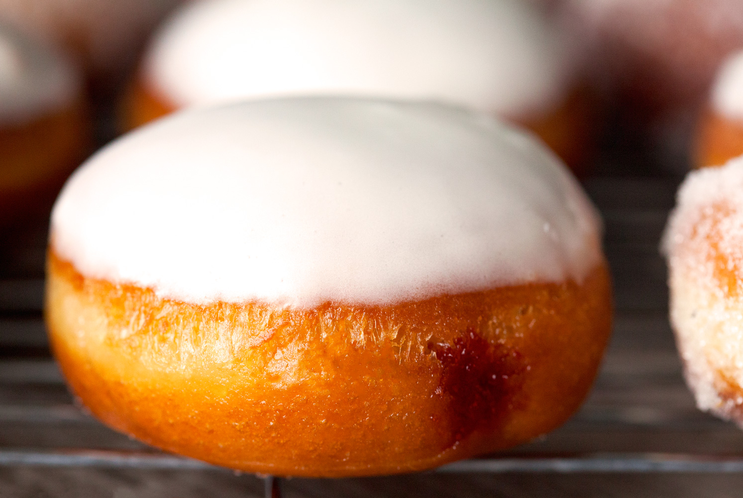 Homemade Jelly-Filled Doughnuts by Deliciously Yum!
