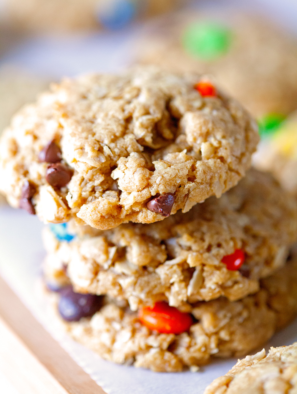 Monster Cookies by Deliciously Yum!