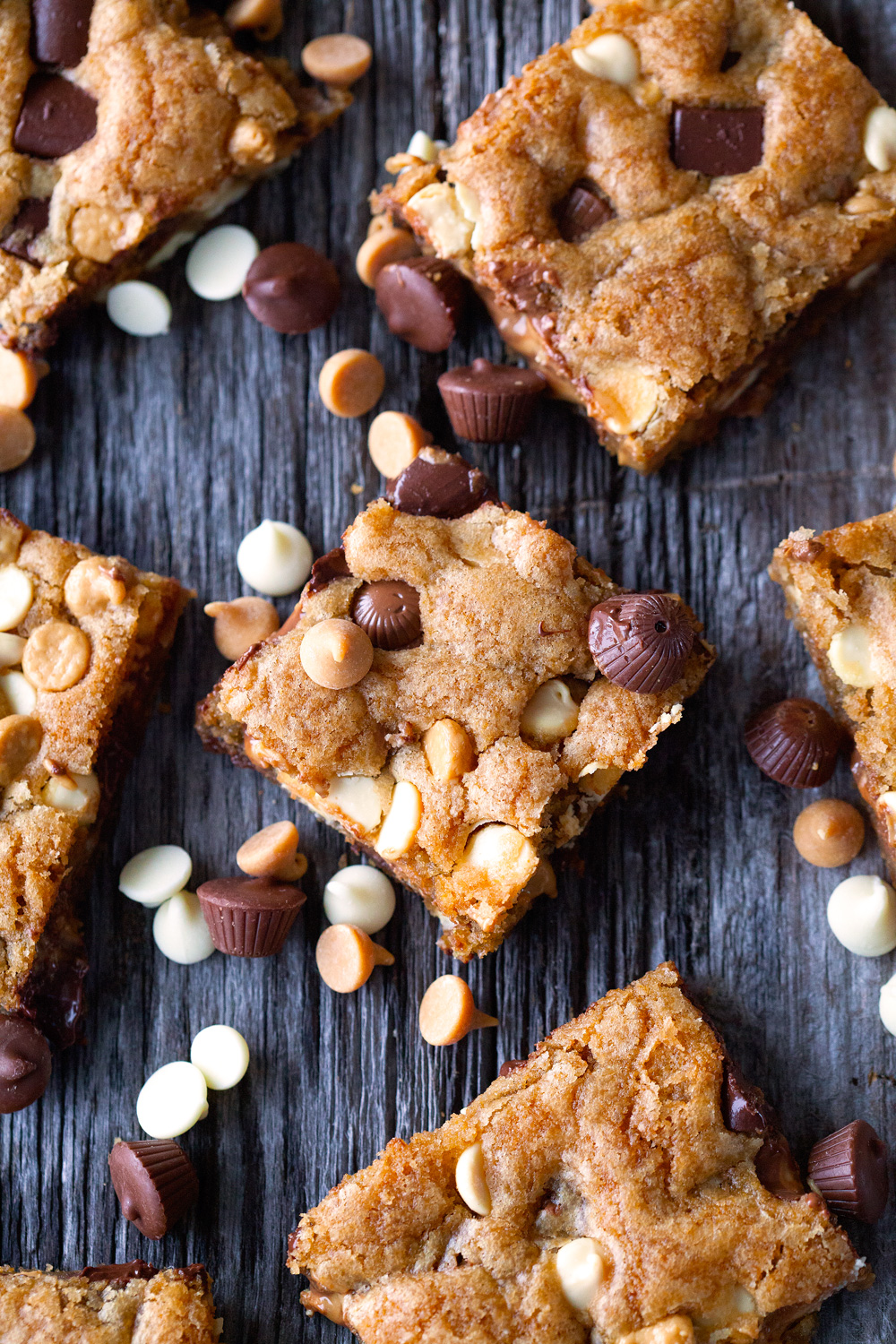 Loaded Cookie Bars via Deliciously Yum!