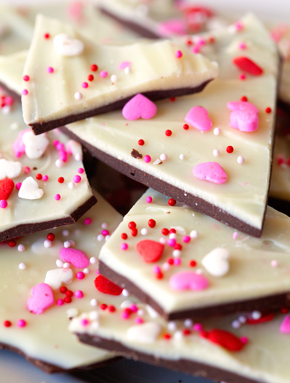 Cake Batter Bark via Deliciously Yum!