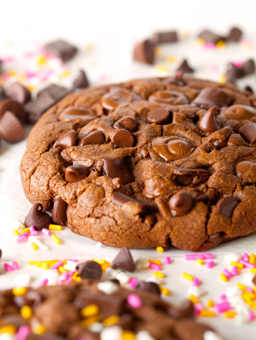 giant-chocolate-pb-cookies-for-two