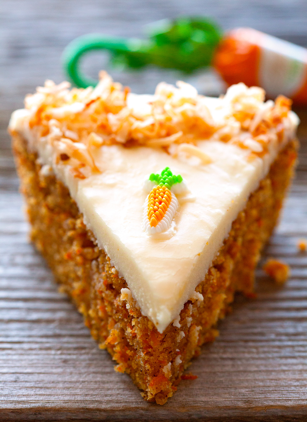 Super Moist Carrot Cake With Cream Cheese Frosting Recipe ...