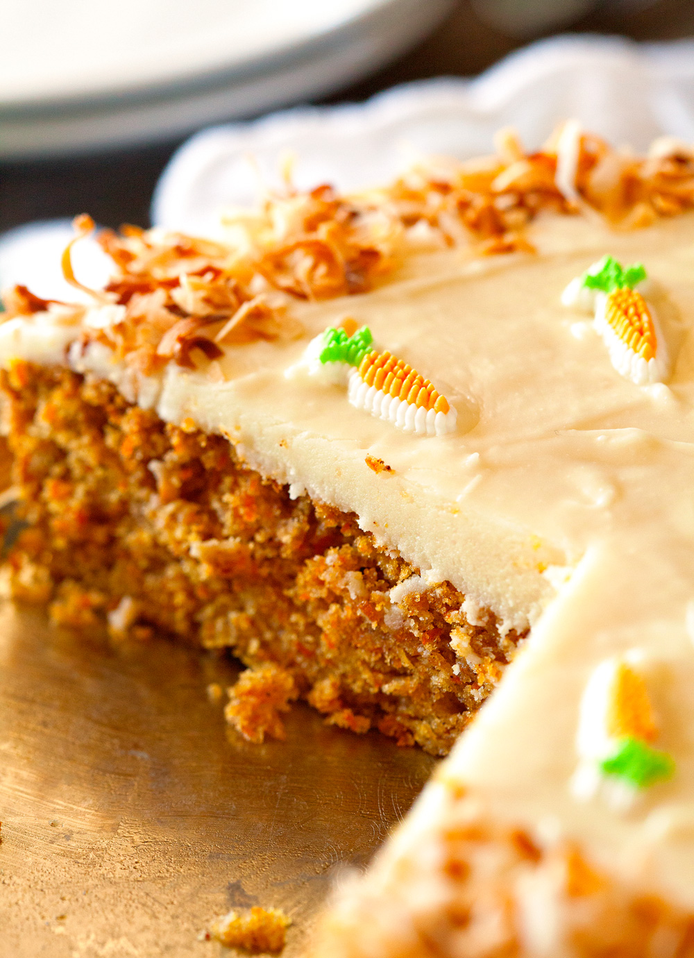 Carrot cake recipe with cheese icing