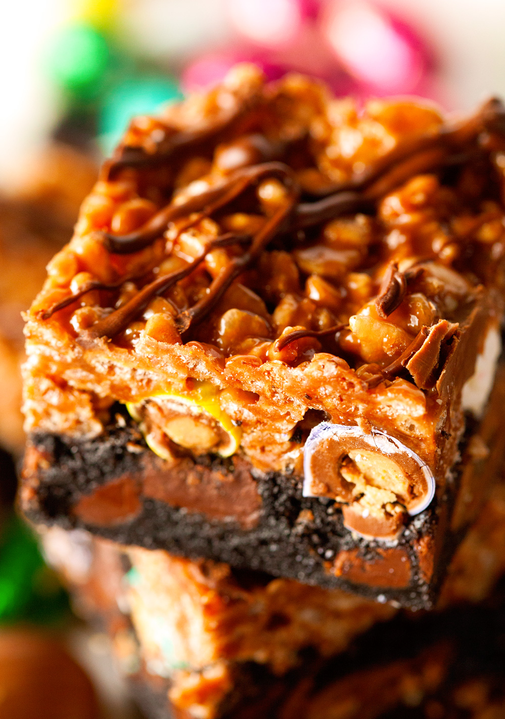 nutella-rice-krispie-easter-candy-mashup-brownies