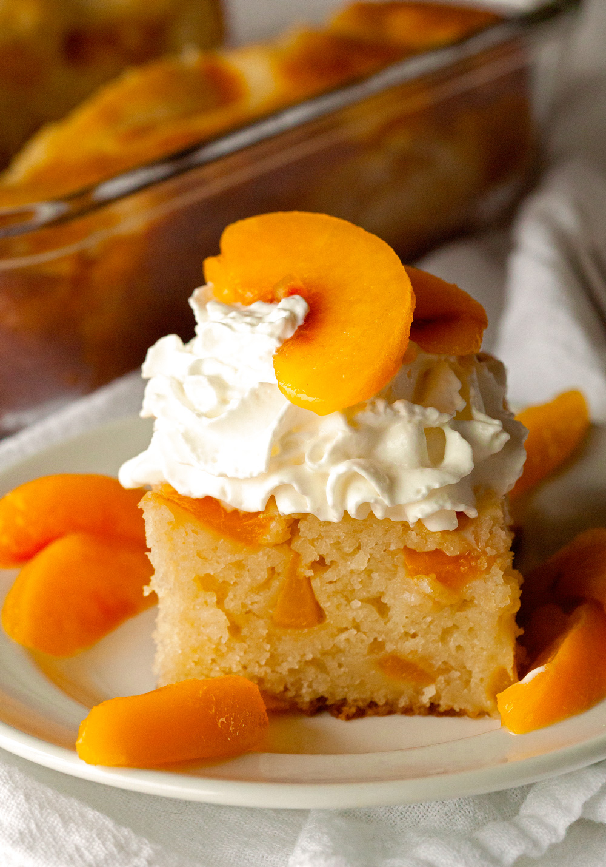 Easy Fruit Cobbler Cake