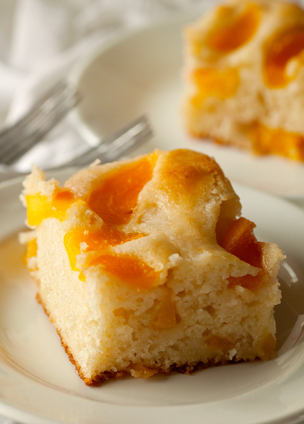 Cake Mix Can Peaches Peach Cobbler Recipe