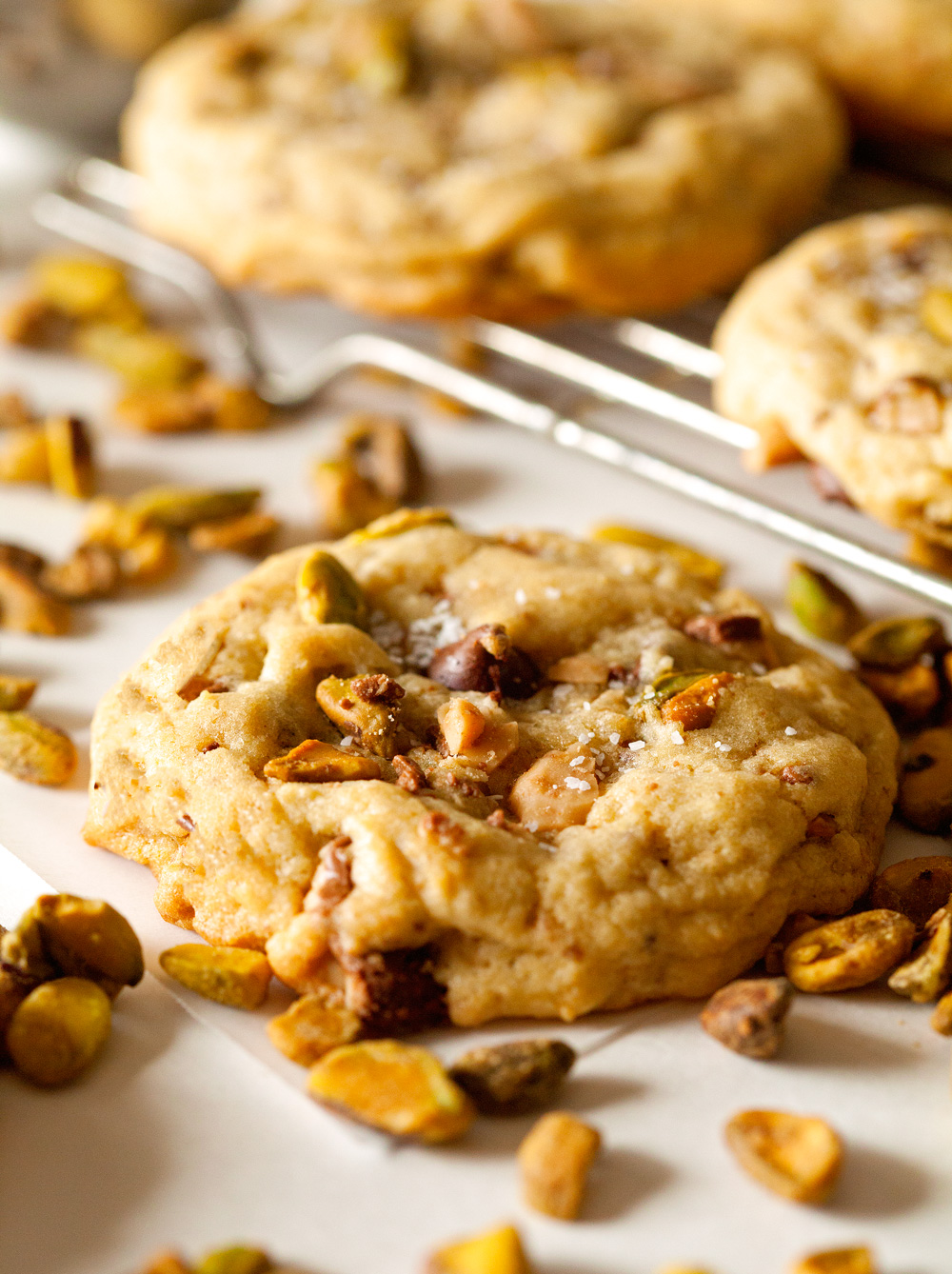 Pistachio-Toffee-Crunch-Cookies