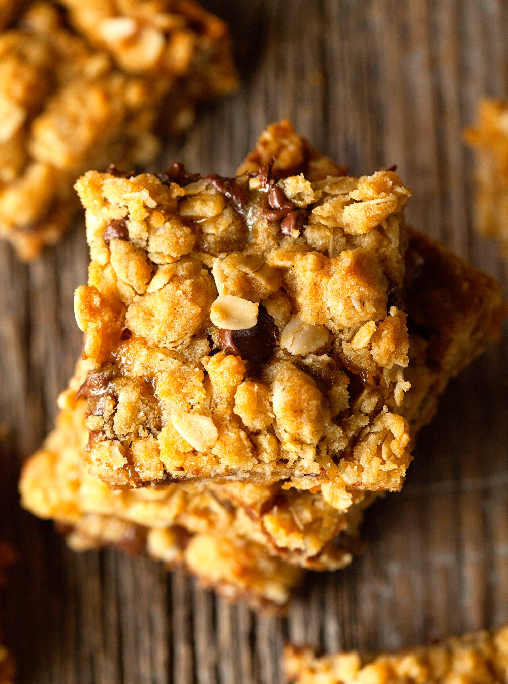 Oatmeal Carmelitas by Deliciously Yum!