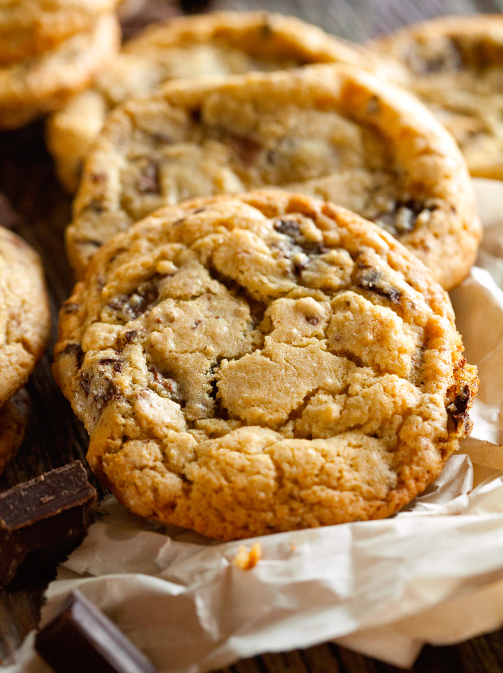Chocoholic Chocolate Chunk Cookies by Deliciously Yum!