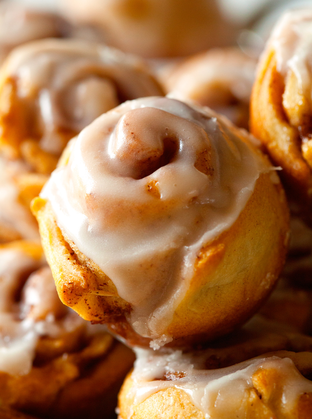 Itty Bitty Cinnamon Roll Bites Recipe — Dishmaps