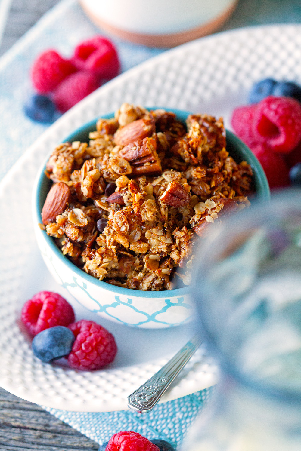 Monster Cookie Granola via Deliciously Yum!