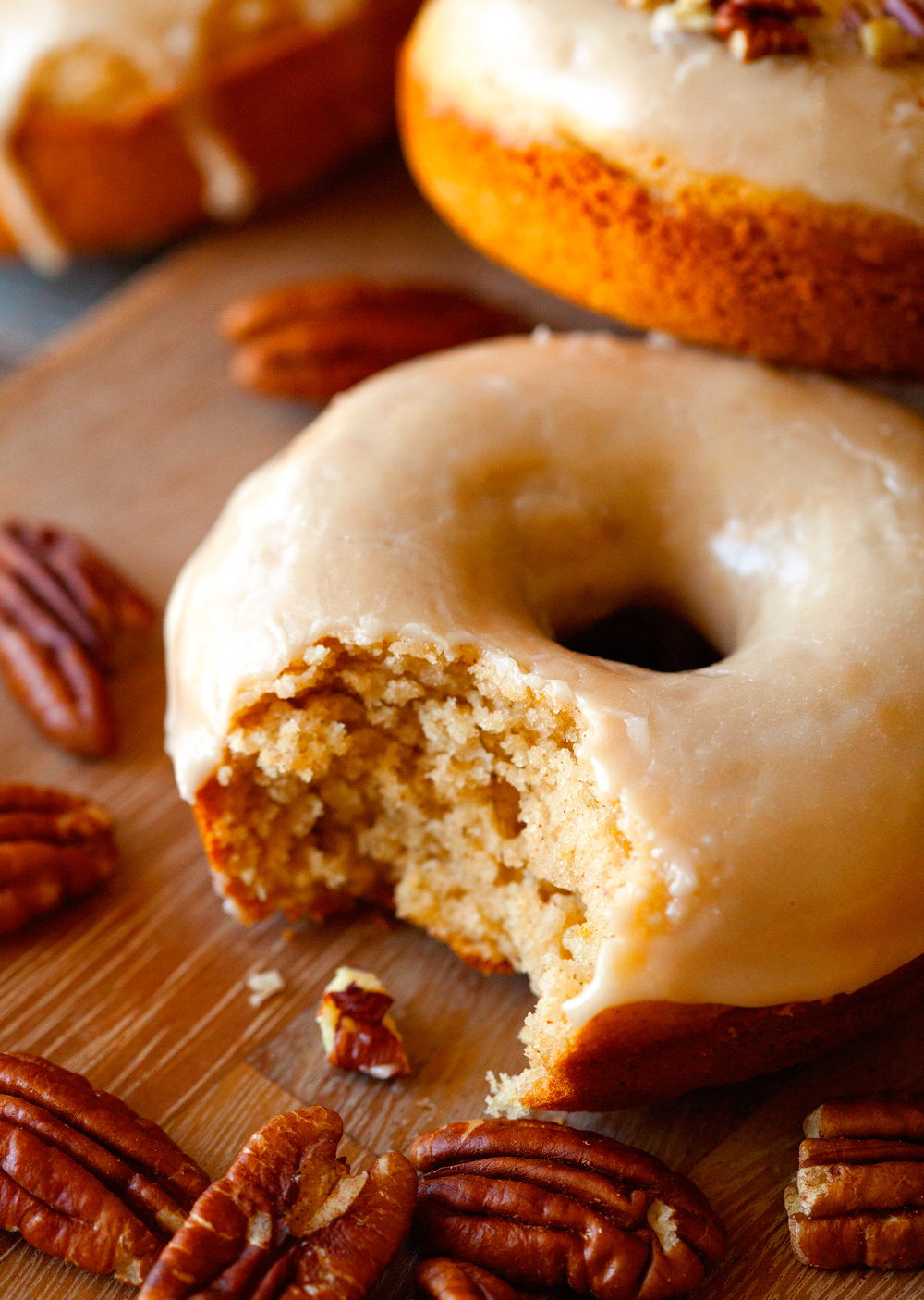 Maple Glazed Donuts