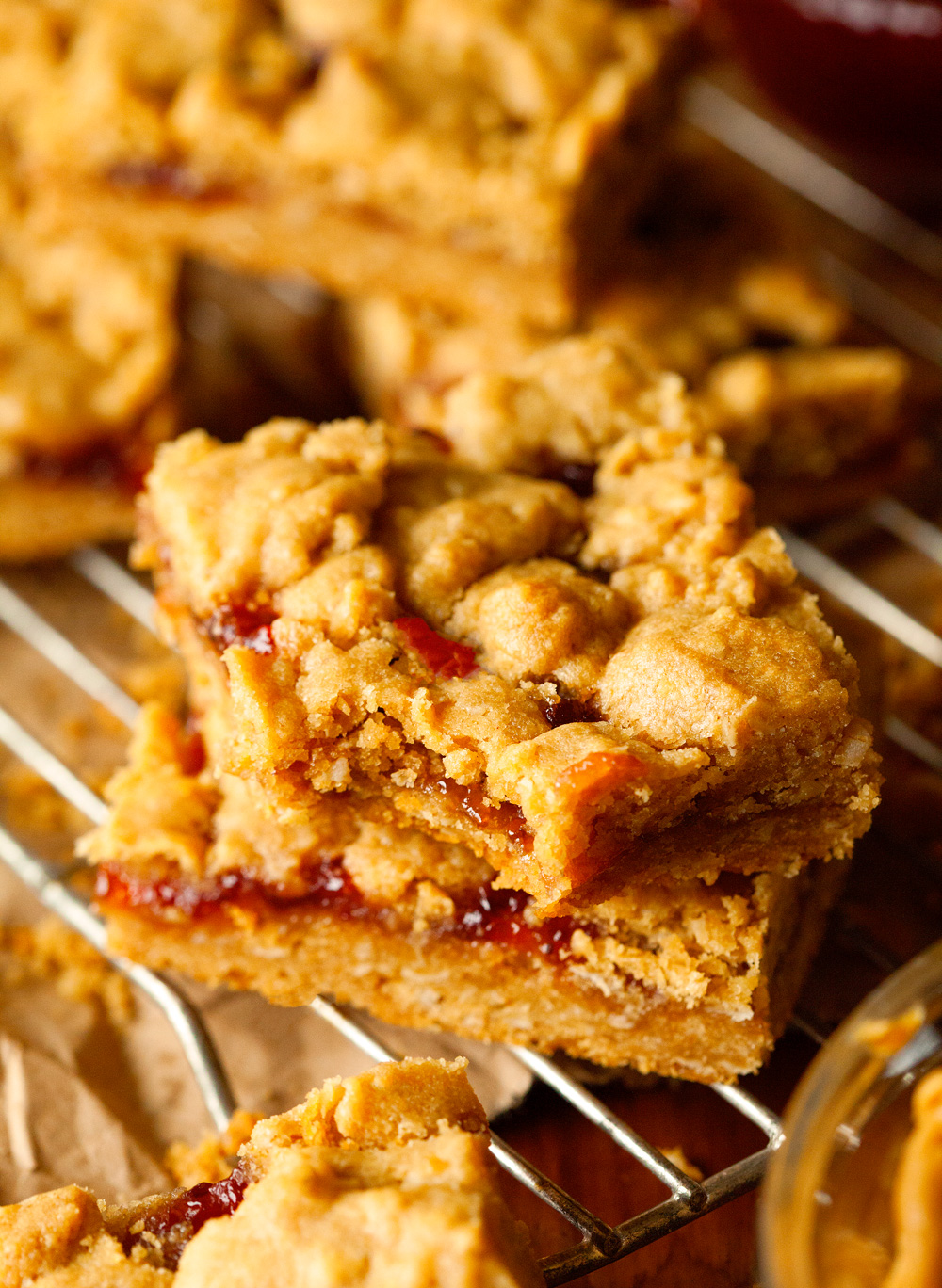 PB and Jelly Bars