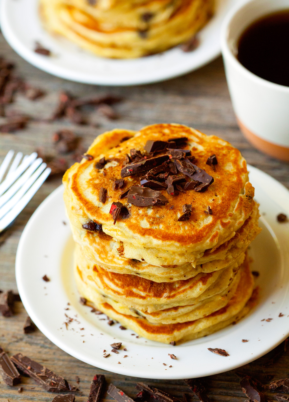Chocolate Chip Cookie Pancakes