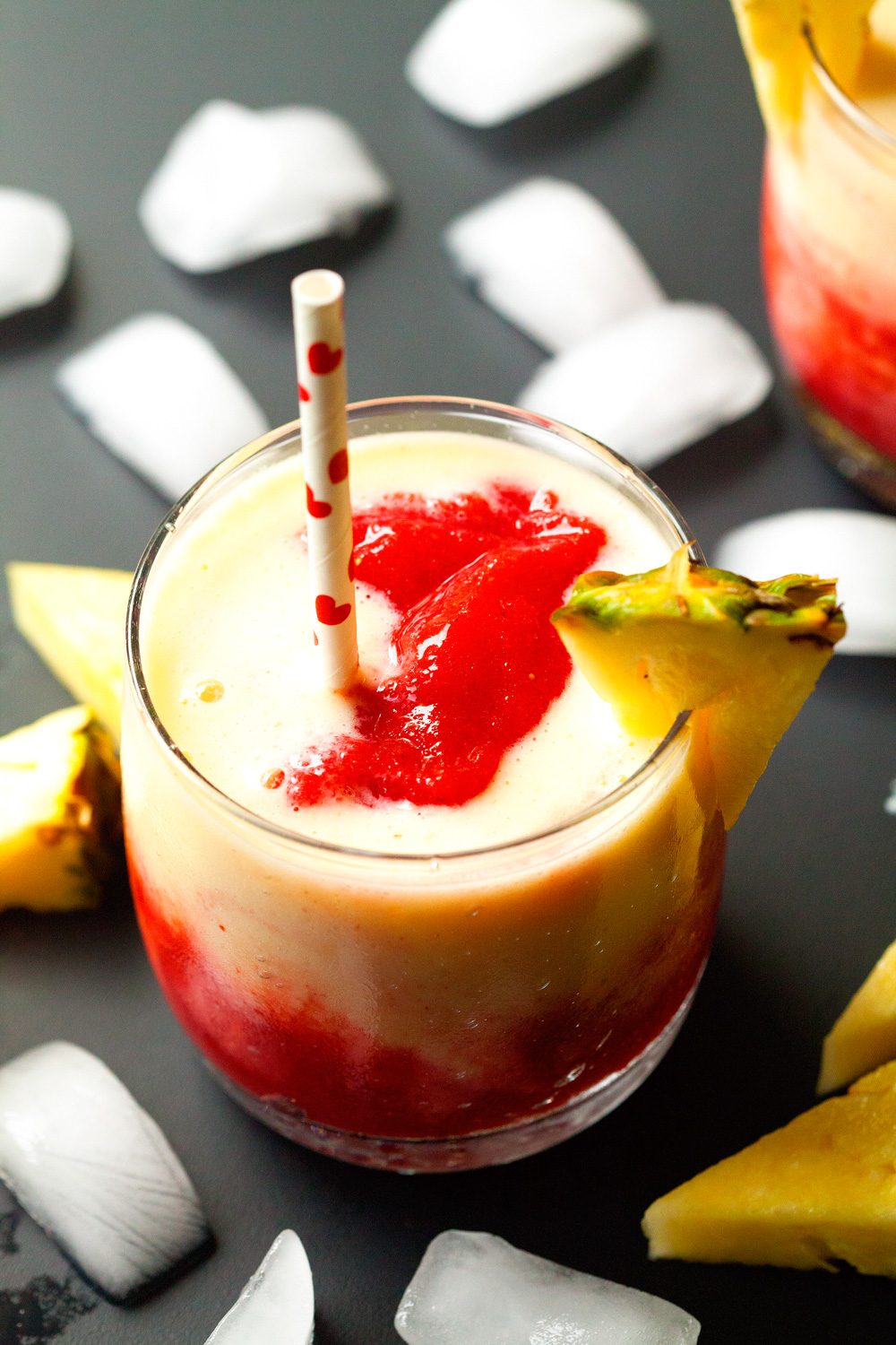 Strawberry 'n Pineapple Lava Flow