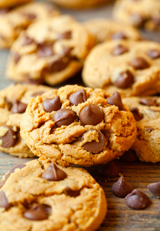 Peanut Butter Cup Cookies (Gluten-Free)