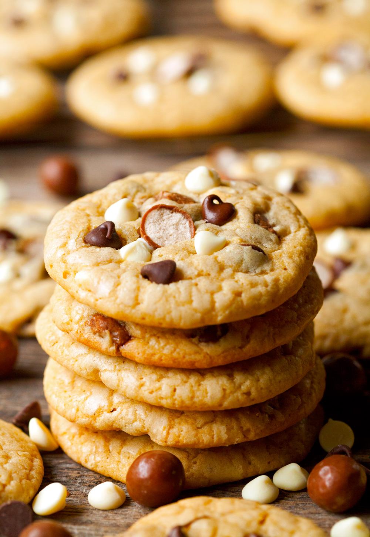 Malted Milk Ball Cookies