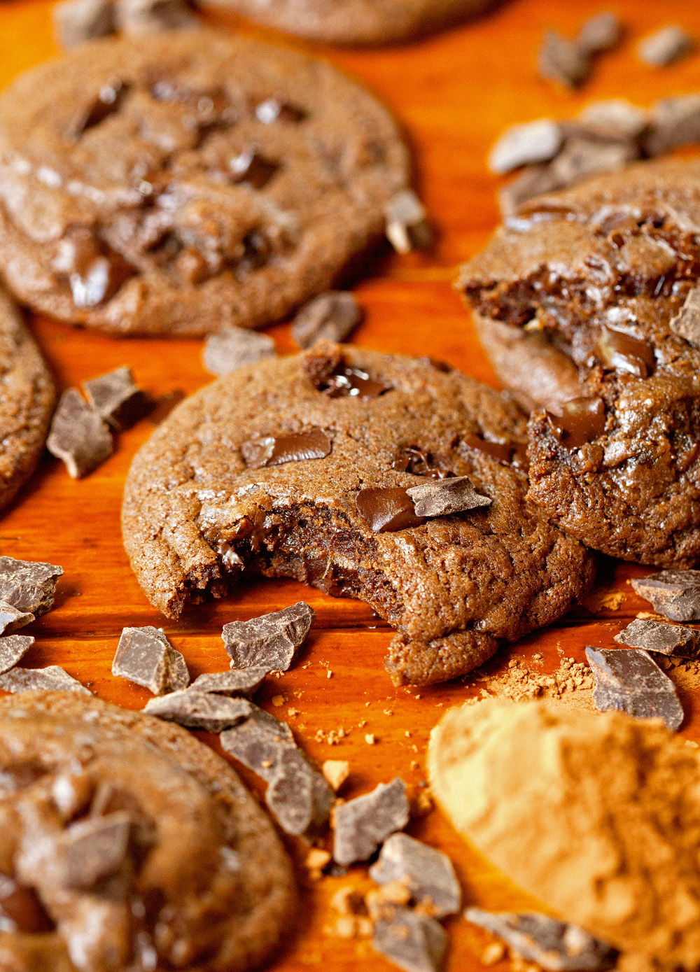 The Healthiest Double Chocolate Cookies