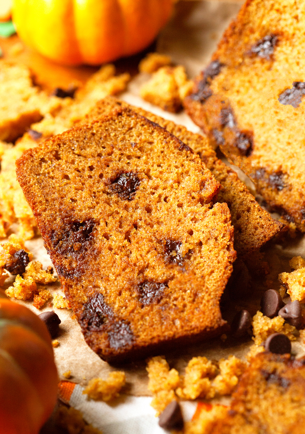 The Best Chocolate Chip Pumpkin Bread